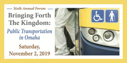 PUBLIC TRANSPORTATION FORUM