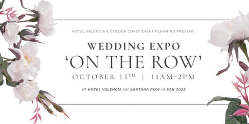 WEDDING EXPO ON THE ROW