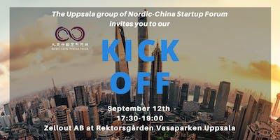 Nordic China Startup Forum Uppsala Kickoff