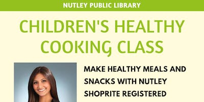 Children's Healthy Cooking Class (11/20 @ 1:45 PM)