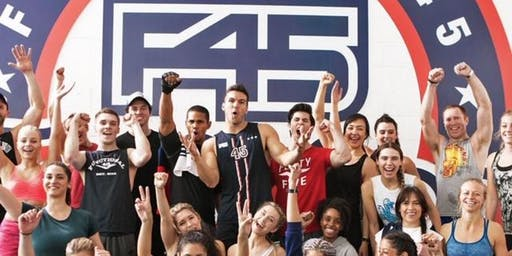 F45 TRAINING *OUTDOOR BOOTCAMP* MURPHY FIELD *157 N. MAIN ST, NATICK