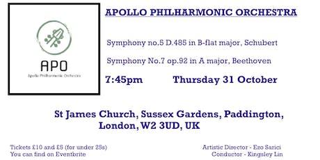 Apollo Philharmonic Orchestra tickets