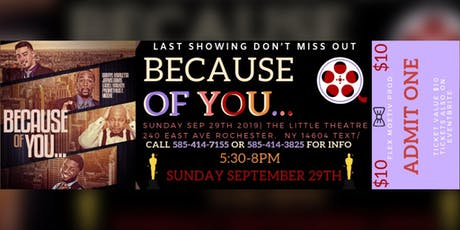 Because of you... (One Knee, One Lie, One Promise) tickets