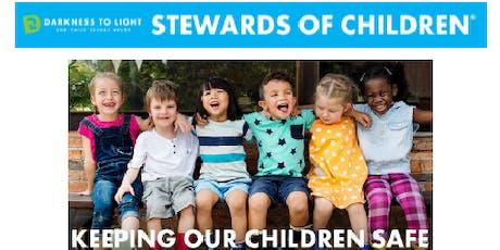 Darkness 2 Light: Stewards of Children Training tickets