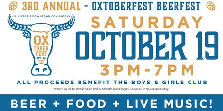Oxtoberfest - Covington Beer Fest tickets