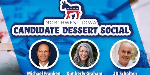 Northwest Iowa Candidate Dessert Social