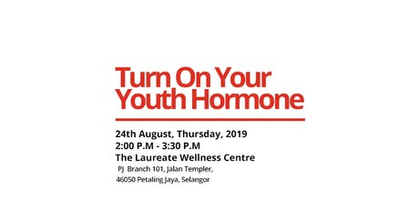 Turn On Your Youth Hormone  tickets