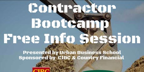 Contractor Bootcamp Free Info Session tickets