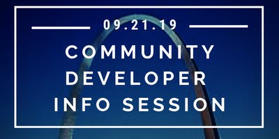 Community Developer Free Info Session