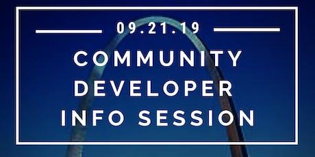Community Developer Free Info Session tickets