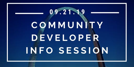 Community Developer Free Info Session