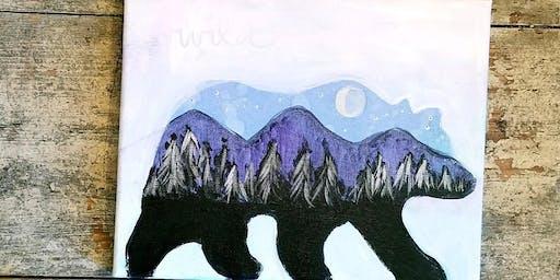 9/25 $22 Wild @ Paint Like ME!