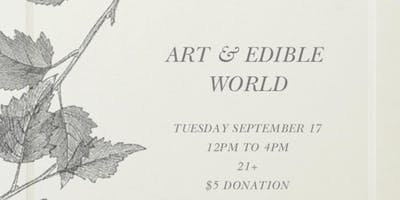 Art & Edible World Tuesday