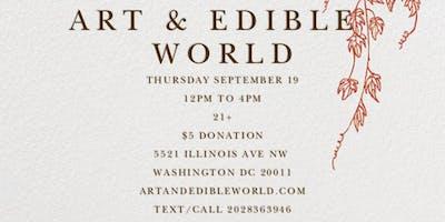 Art & Edible World Thursday