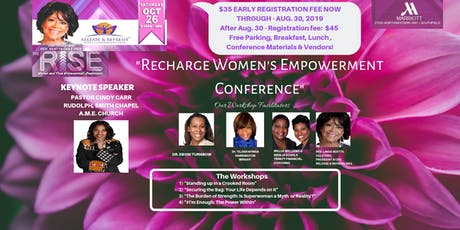 We Rise Womens & Teen Empowerment Conference--Oct. 26, 2019 tickets