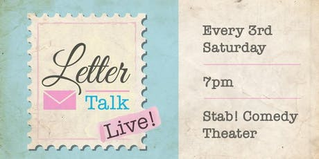 Letter Talk Live - September 2019 tickets