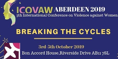 5th International Conference on Violence against Women;BREAKING THE CYCLES tickets