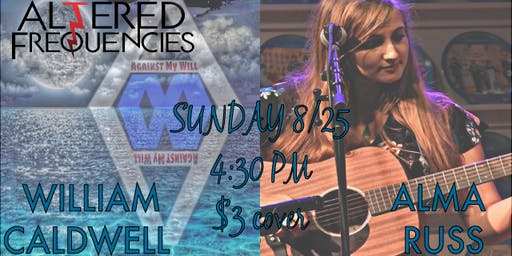 Singer-Songwriter Sunday at Altered Frequencies