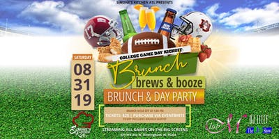 College Game Day Kickoff- BRUNCH, BREWS , & BOOZE DAY PARTY