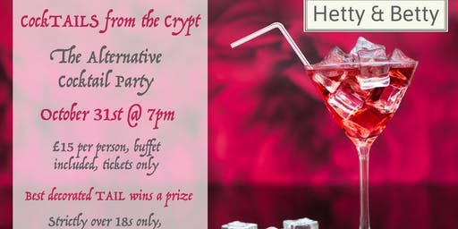 Cocktails from the Crypt - The alternative Halloween cocktail party!