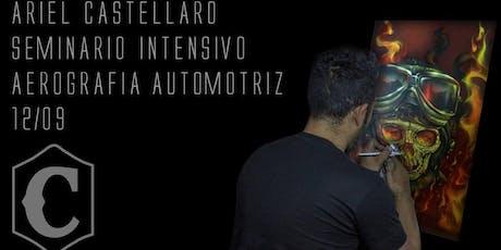 Seminario de Aerografia Automotriz-  Ariel Castellaro entradas