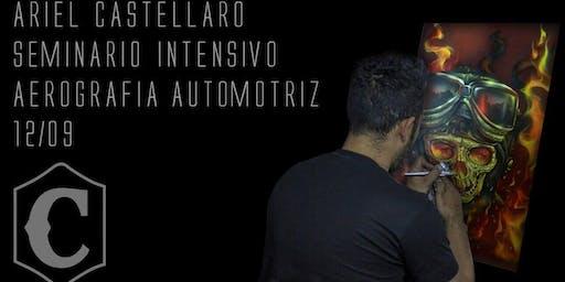 Seminario de Aerografia Automotriz-  Ariel Castellaro