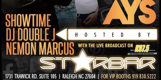 STARBAR TONIGHT WITH DJ DOUBLE J & NEMON MARCUS K97.5 BROADCASTING LIVE