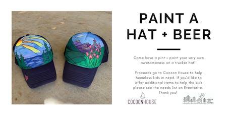 Paint a Trucker Hat: Sunshine tickets