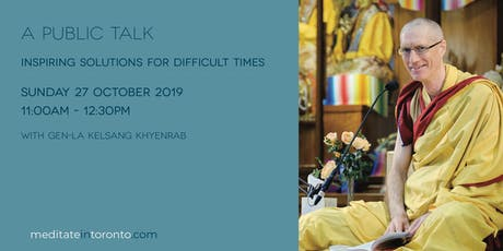 Inspiring Solutions for Difficult Times - A Public Talk tickets