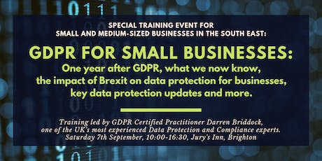 Data Protection Seminar for Small Businesses: One Year into GDPR tickets