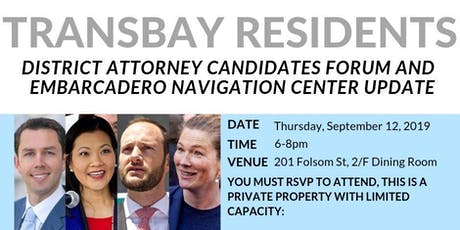 Transbay Residents District Attorney Forum tickets
