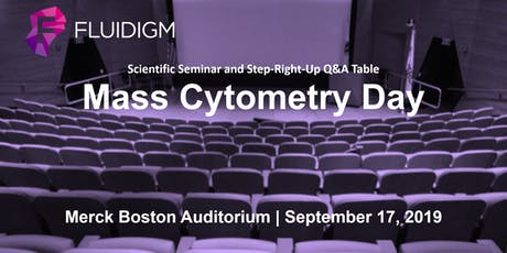 Mass Cytometry Day at Merck Auditorium tickets