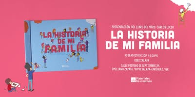 """Presentación del Libro \""""La Historia de mi Familia\"""" - USBI Xalapa"""