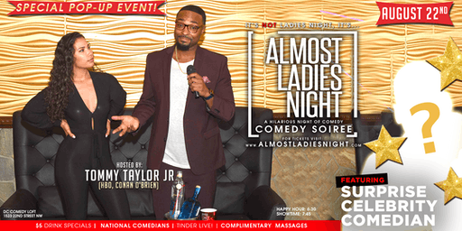 ALMOST LADIES NIGHT Comedy Show | POP-UP EVENT