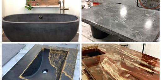 Concrete Countertops & Dimensional Epoxy Finishes