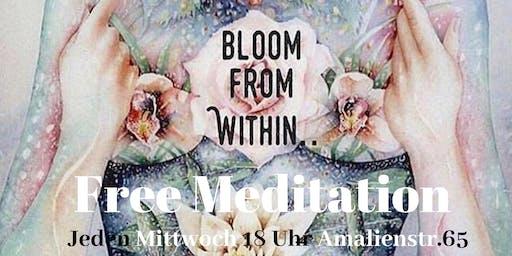 Free Meditation München Event Abend After Work jeden Mittwoch kostenlos meditieren