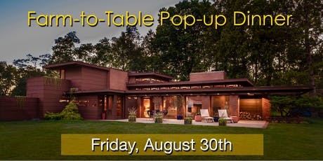 Farm-to-Table Pop-up Dinner tickets