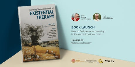 Book Launch: The Wiley World Handbook of Existential Therapy tickets