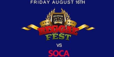 Reggae Fest Friday Night Live at S.O.B's *October 4th tickets