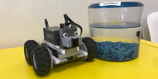 Robot building and playing (Mandarin Immersion) 9am-12pm Aug 23