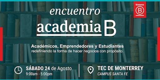 Primer Encuentro Academia B México