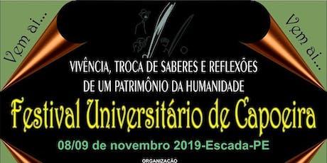 FESTIVAL UNIVERSITÁRIO DE CAPOEIRA tickets