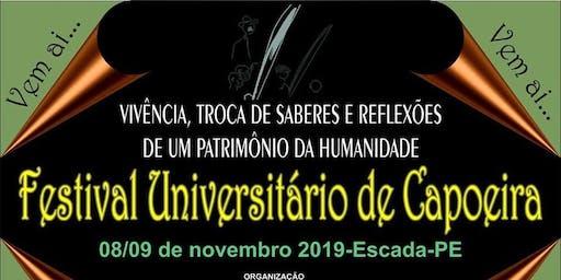 FESTIVAL UNIVERSITÁRIO DE CAPOEIRA