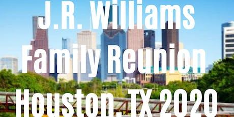 J.R. Williams Family Reunion - Houston, TX 2020 tickets