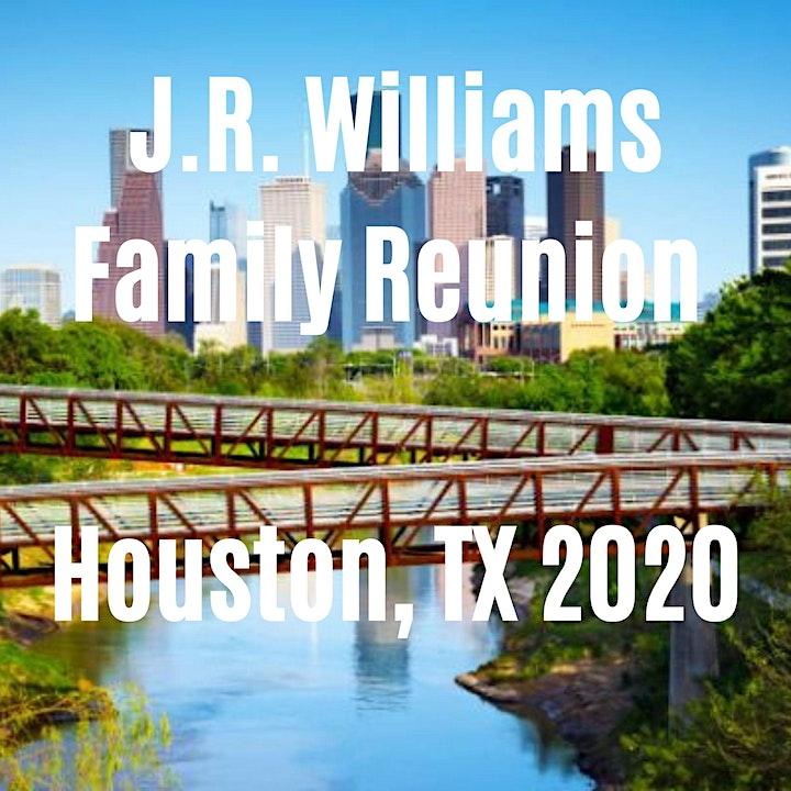 J.R. Williams Family Reunion - Houston, TX 2020 image