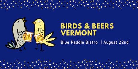 Birds & Beers Vermont - August tickets