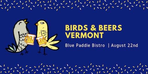 Birds & Beers Vermont - August
