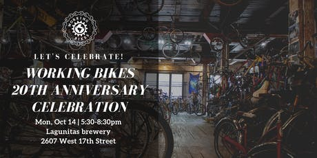 Working Bikes 20th Anniversary Celebration tickets