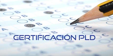 Curso Certificación PLD boletos