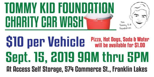 Franklin Lakes Chamber Tommy Kid Annual Charity Car Wash